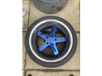 4 x 18 Inch XXR alloy wheels for sale