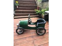 Toddler pedal/push along vintage car