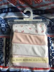 Brand new long sleeve 3-6months vest