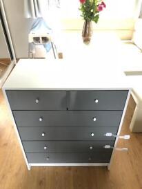 Malibu 4+2 Drawer chest