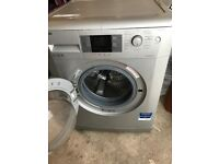 Silver Beko washing machine for sale