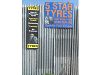 New and Part Worn Tyres for car and van