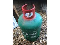 Patio Gas Bottle full