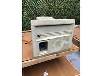 Caravan/ camper battery box and consumer unit