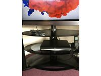 """Sony Bravia 36"""" Flatscreen TV and table"""