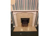 Gas fire place good condition