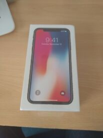 Brand new iphone X 256gb
