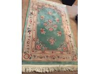 Beautiful Chinese Rug. Luxurious feel and looks great!
