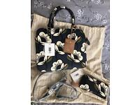 New - Orla kiely Passion flower Jeanie and purse