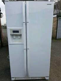 Samsung American fridge freezer free local delivery