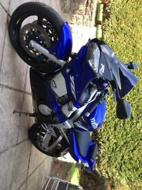 Yamaha yzf r6 low millage 13k