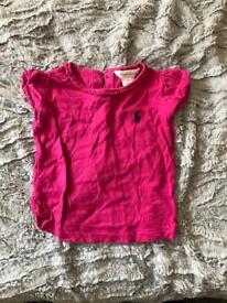 Girls Ralph Lauren t-shirt