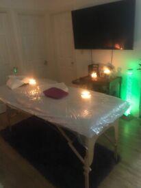 Relaxing Swedish and Hot Stoune massage