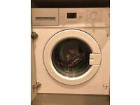 Howdens integrated washing machine, like new