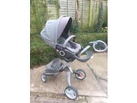 Stokke explory V3 stroller/ pram/ pushchair.