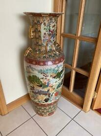 Huge Chines or Asian decorative vase