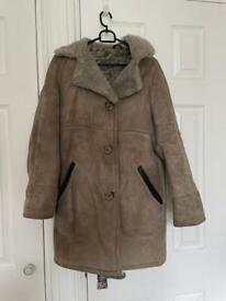 Vintage réal sheepskin coat