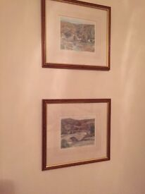 Phillip Martin, two signed Limited Edition Prints of the Lake District, Watenlath & Grange