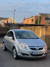 Vauxhall Corsa 1.2 petrol low mileage