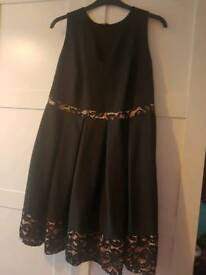 Black dress size 18 Yours clothing