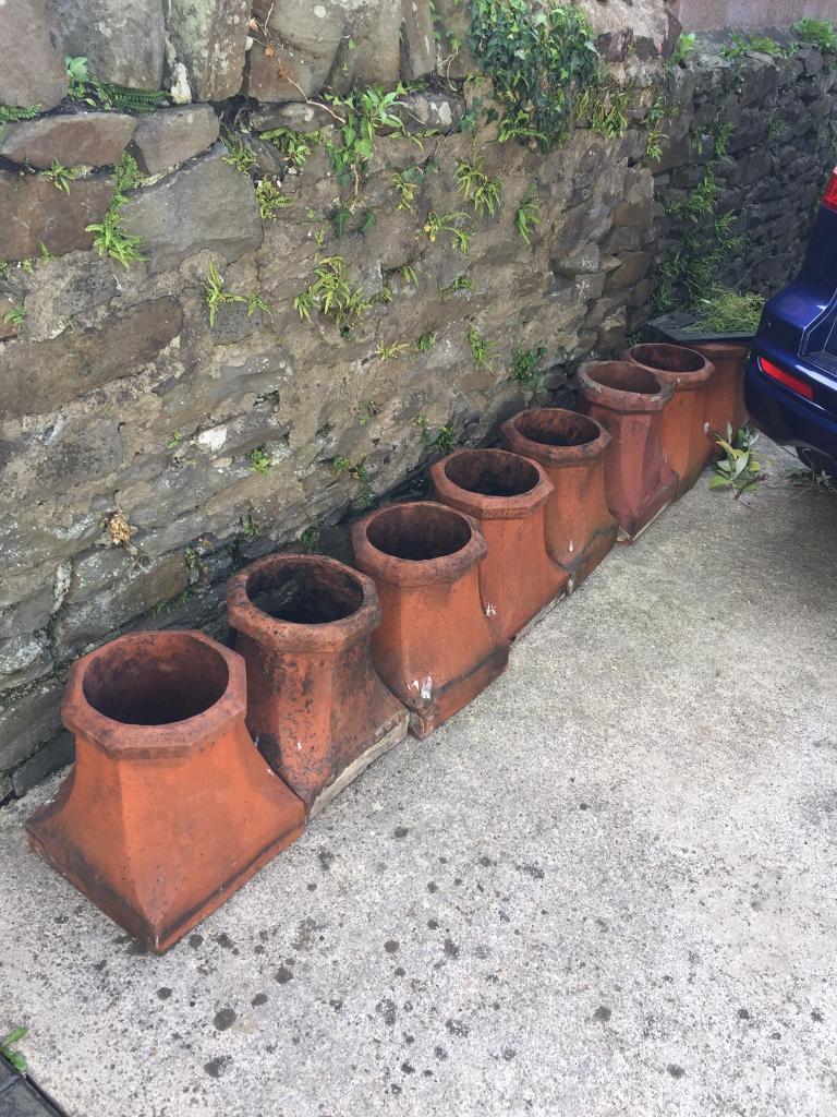 8 Chimney Pots for sale