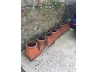 8 Chimney Pots for sale