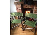 Outwell folding caravan & camping chairs