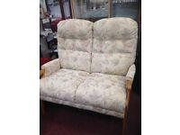 high back 2 seater sofa