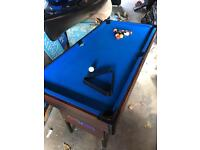 2ft x 4ft pool table
