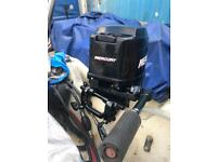 Mercury 25hp long shaft outboard engine / motor for boat