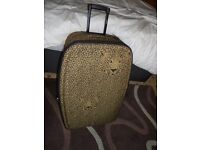 "29"" Leopard Print Suitcase New Unused Gift £25"