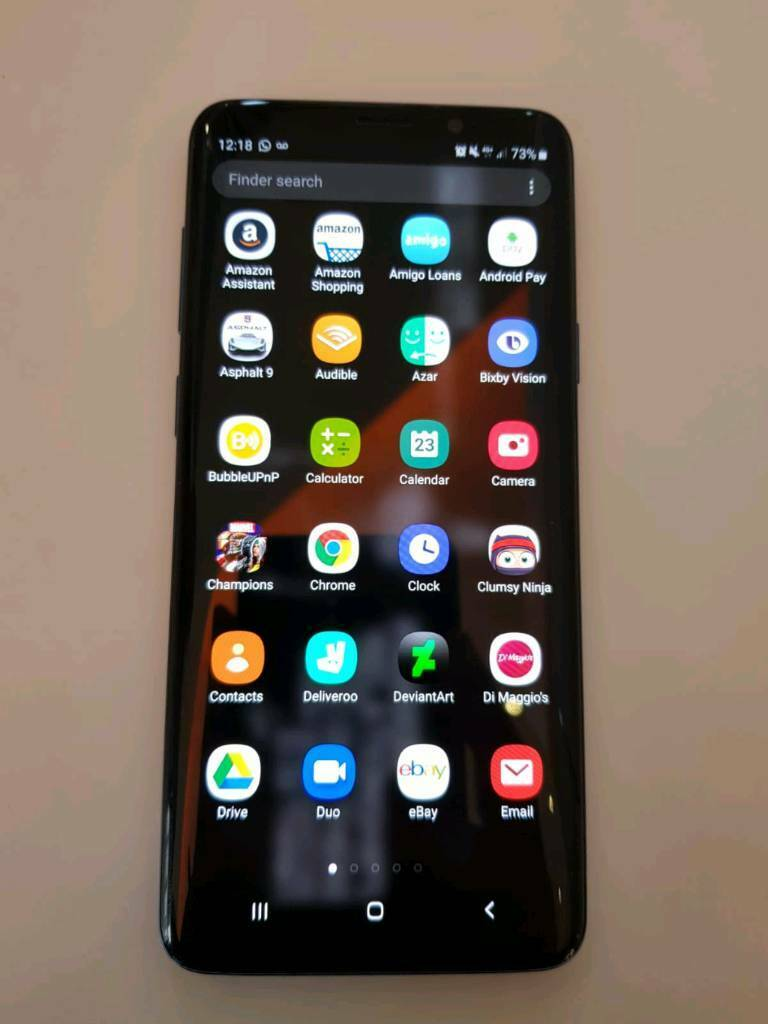 Samsung Galaxy S9+ Plus Coral Blue 128gb Unlocked | in Glasgow | Gumtree