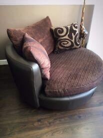 DFS Swivel Chair (loveseat)