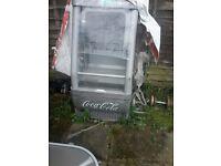Cocacola fridge chiller