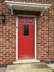 Wooden front door, 83x197cm