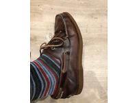 Men's Timberland Leather Boat Shoes Earthkeepers UK 7.5 EU 41.5