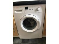 Bosch Washing machine 6kg 1400 spin - only 1 year old