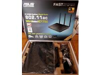 ASUS RT-AC66U Wireless Cable & Fibre Router - AC 1750, Dual-band