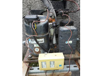 2h coldroom compressor gauge,full gas ,cut out switch , complete with fiberglass housing £800