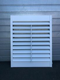 Plantation shutter panel - new, never fitted. Excess stock.