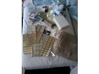 Large bundle of wedding stationary/craft stuff