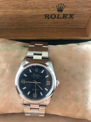 Rolex Air-King Precision Oyster 34mm Genuine With Box