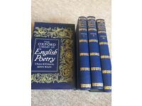 The Oxford Library of English Poetry
