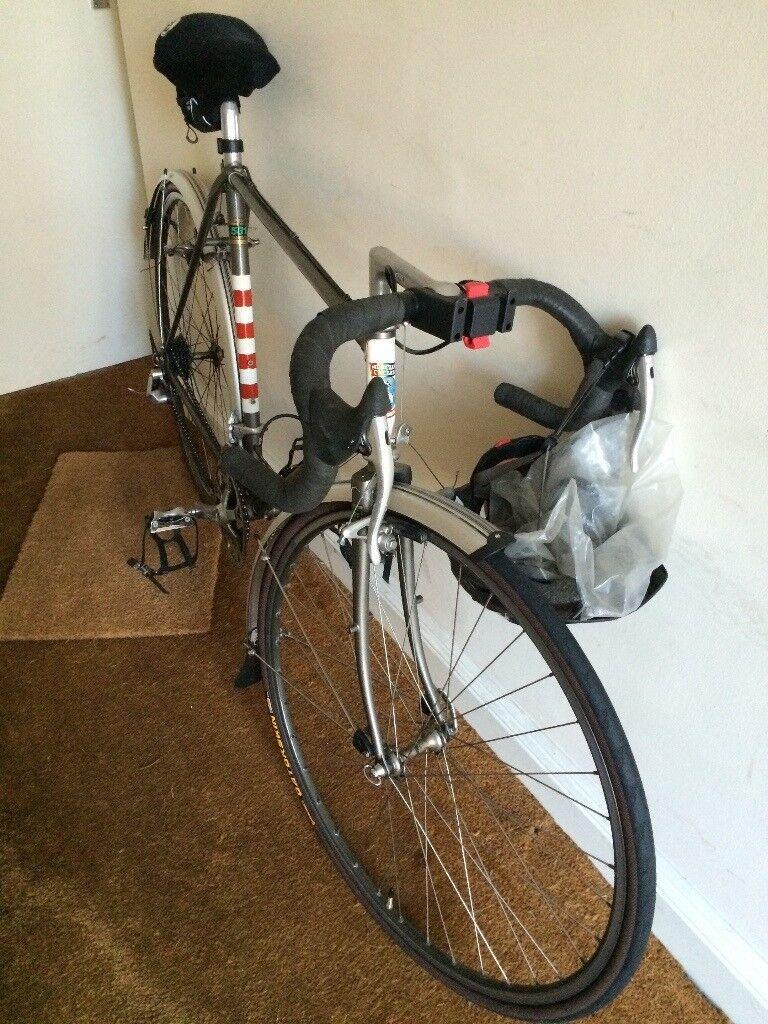 Racing Cycle. Mens Road Bike. Mercian of Derby. 22 inch Reynolds ...