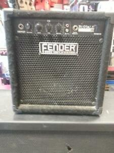 Fender Bass Amp (7557) We sell Used Amps and audio equipment.