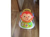 Fisher Price 4in1 monkey Childs seat and walker