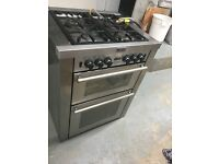 Silver Stoves freestanding gas cooker