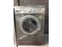 nice silver beko washing machine 5kg 1200 spin in excellent condition in full working order