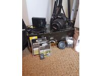 Nikon D3100 With accessories Excellent condition!