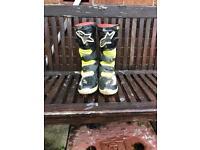 Alpinestar tech6s kids boots